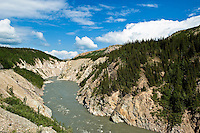 Landscape of the Nenana River, Alaska