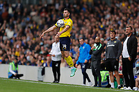 4th September 2021; Merton, London, England;  EFL Championship football, AFC Wimbledon versus Oxford City: Anthony Forde of Oxford United chests down the ball