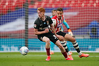 Callum Morton (on loan from WBA) of Northampton Town during the Sky Bet League 2 PLAY-OFF Final match between Exeter City and Northampton Town at Wembley Stadium, London, England on 29 June 2020. Photo by Andy Rowland.