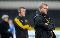 Hull City manager Grant McCann watches on<br /> <br /> Photographer Alex Dodd/CameraSport<br /> <br /> EFL Papa John's Trophy - Northern Section - Group H - Hull City v Grimsby Town - Tuesday 17th November 2020 - KCOM Stadium - Kingston upon Hull<br />  <br /> World Copyright © 2020 CameraSport. All rights reserved. 43 Linden Ave. Countesthorpe. Leicester. England. LE8 5PG - Tel: +44 (0) 116 277 4147 - admin@camerasport.com - www.camerasport.com