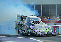 Apr. 27, 2012; Baytown, TX, USA: NHRA funny car driver Bob Bode during qualifying for the Spring Nationals at Royal Purple Raceway. Mandatory Credit: Mark J. Rebilas-