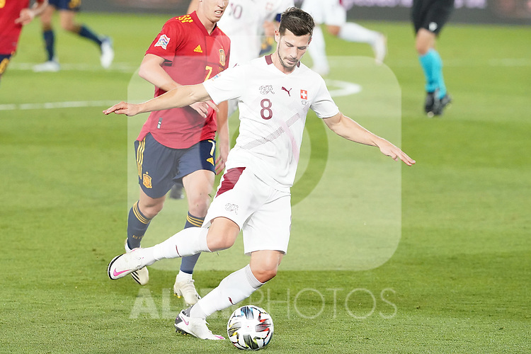 Switzerland's Remo Freuler during UEFA Nations League 2020 League Phase match. October 10,2020.(ALTERPHOTOS/Acero)