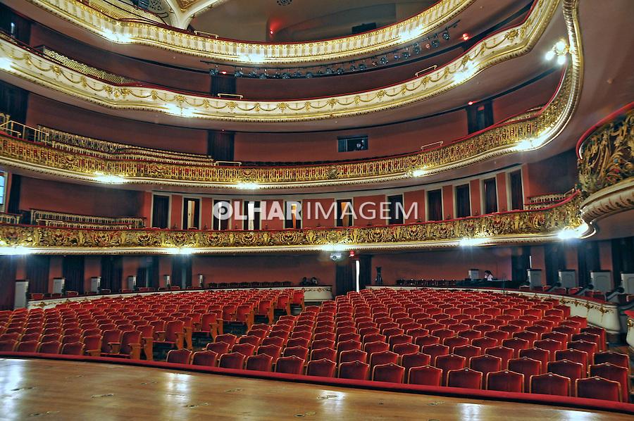 Edificio do Teatro Municipal. Sao Paulo. 2012. Foto de Marcia Minillo.