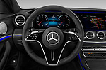 Car pictures of steering wheel view of a 2021 Mercedes Benz E-Class-Sedan E350 4 Door Sedan Steering Wheel