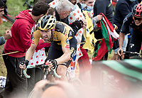 Tom Dumoulin (NED/Jumbo-Visma) up the Col de Marie Blanque (1st Cat)<br /> <br /> Stage 9 from Pau to Laruns (153km)<br /> <br /> 107th Tour de France 2020 (2.UWT)<br /> (the 'postponed edition' held in september)<br /> <br /> ©kramon