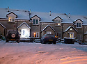 12/12/17<br /> <br /> After overnight temperatures plummet to minus nine degrees celsius houses appear to be in the grip of winter near Buxton in the Derbyshire Peak District.<br />   <br /> All Rights Reserved F Stop Press Ltd. +44 (0)1335 344240 +44 (0)7765 242650  www.fstoppress.com
