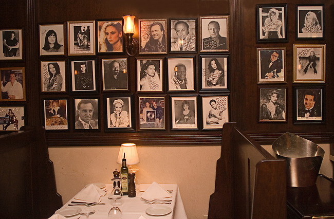 Celebrity Photos, Rao's Restaurant, Las Vegas, Nevada