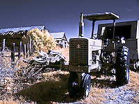 Old International Harvester tractor