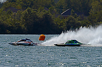 "Mike Monahan, GP-35 ""TM Special"", Brandon Kennedy, GP-25 ""H8 Cancer Racing""       (Grand Prix Hydroplane(s)"