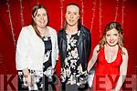 Joanne Kiely (Dunamore Macra), Michelle Sheehan (Knockraha Macra) and Aisling Walsh (Glanmire Macra) attending the Macra na Feirme 75th Anniversary Social in the Ballygarry House Hotel on Saturday