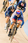 Christopher Latham of the Great Britain team competes in the Men's Scratch Race Final as part of the 2017 UCI Track Cycling World Championships on 13 April 2017, in Hong Kong Velodrome, Hong Kong, China. Photo by Marcio Rodrigo Machado / Power Sport Images