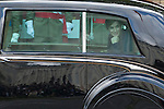 Queen Letizia of Spain leaves the Spanish National Day military parade in Madrid, Spain. October 12, 2015. (ALTERPHOTOS/Victor Blanco)