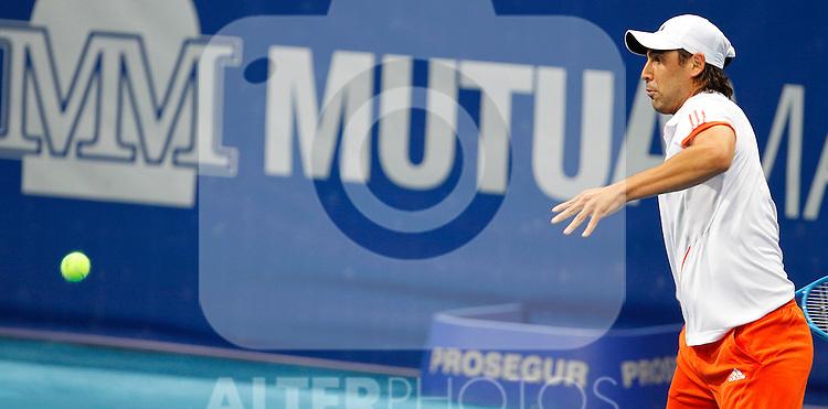 Marcos Baghdatis during Madrid Open Tennis 2012 Match.May, 7, 2012(ALTERPHOTOS/ALFAQUI/Acero)