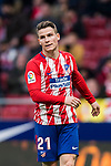 Kevin Gameiro of Atletico de Madrid looks on during the La Liga 2017-18 match between Atletico de Madrid and Girona FC at Wanda Metropolitano on 20 January 2018 in Madrid, Spain. Photo by Diego Gonzalez / Power Sport Images