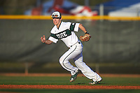 Chicago State Cougars second baseman Matt Sullivan (26) during a game against the Georgetown Hoyas on March 3, 2017 at North Charlotte Regional Park in Port Charlotte, Florida.  Georgetown defeated Chicago State 11-0.  (Mike Janes/Four Seam Images)