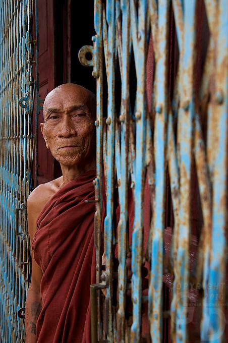 Monk at Inle Lake, Shan State, Myanmar