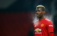 Football - 2020 / 2021 Premier League - Manchester United, ManU vs Wolverhampton Wanderers - Old Trafford Paul Pogba of Manchester United at Old Trafford PUBLICATIONxNOTxINxUK 7777<br /> Photo Imago/Insidefoto <br /> ITALY ONLY