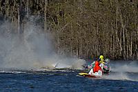 Frame 4: Serena Durr 96-F, Erin Pittman 6-H crash. (Outboard Hydroplanes)