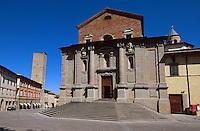 Palazzo Comunale in Citta di Castello, Umbrien, Italien