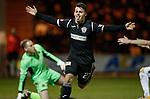 27.3.2018: St Mirren v Dumbarton:<br /> Danny Mullen celebrates his goal
