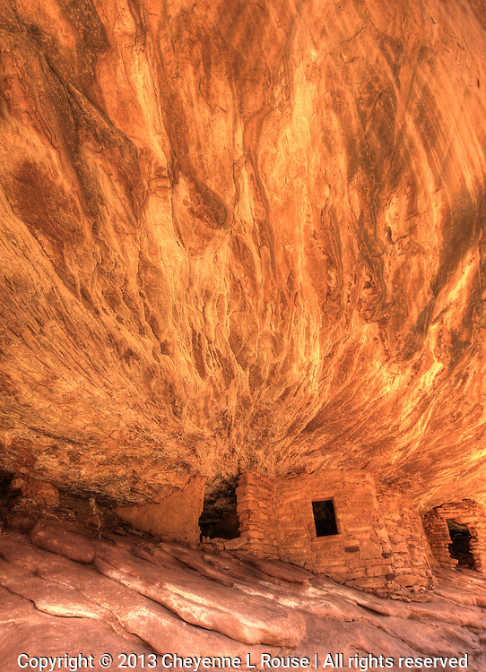 Anasazi Reflections -  S Utah - ancient ruin - southwest - Ancestral Puebloans