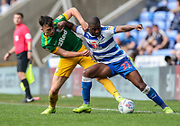 Preston North End's Josh Earl competing with Reading's Yakou Meite <br /> <br /> Photographer Andrew Kearns/CameraSport<br /> <br /> The EFL Sky Bet Championship - Reading v Preston North End - Saturday 30th March 2019 - Madejski Stadium - Reading<br /> <br /> World Copyright © 2019 CameraSport. All rights reserved. 43 Linden Ave. Countesthorpe. Leicester. England. LE8 5PG - Tel: +44 (0) 116 277 4147 - admin@camerasport.com - www.camerasport.com
