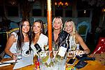 Enjoying the evening in Molly J's on Thursday, l to r: Mia Duggan, Tirna Brosnan, Maggie Sugrue and Emma Lynch.