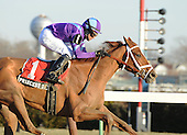 Princess of Sylmar tight at the wire in the Busanda Stakes at the Big A on Jan. 5.