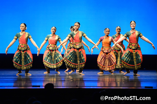 Natya Dance Theatre performing at Spring to Dance Festival at Touhill in St. Louis, MO on May 24, 2013.
