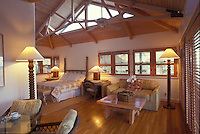 Sea ranch cottage interior at the Hotel Hana Maui