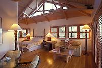 Sea ranch cottage interior at the Hotel Hana Maui