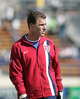 The USA defeated China, 4-1, in an international friendly at Spartan Stadium, San Jose, CA on June 2, 2007.
