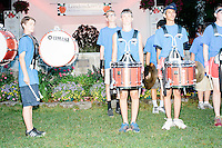Members of the Londonderry Marching Lancers perform at Londonderry Old Home Day in Londonderry, New Hampshire. Republican presidential candidate Dr. Ben Carson later showed up at the event to meet New Hampshire voters.