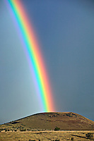 End of the Rainbow in the Greer Valley of Arizona's White Mountains.