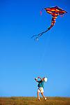 Kite Flying, San Luis Obispo, California
