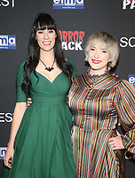 HOLLYWOOD, CA - OCTOBER 12: Tara Erickson and Mary O'Neil, at the 21st Screamfest Opening Night Screening Of The Retaliators at Mann Chinese 6 Theatre in Hollywood, California on October 12, 2021. Credit: Faye Sadou/MediaPunch