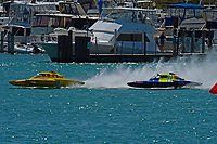 """Frame 4: Andrew Tate, H-300 """"Pennzoil"""", Donny Allen, H-14 """"Legacy 1""""       (H350 Hydro)"""