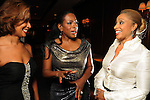 From left: Dr. Camille Cash, speaker Sheryl Lee Ralph and Mia Wright at the Top 25 Women of Houston event at The Houstonian Friday Oct. 15, 2010. (Dave Rossman/For the Chronicle)