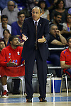 Euroleague Basketball-Regular Season Game: 04.<br /> FC Barcelona vs CSKA Moscow: 79-70.<br /> Ettore Messina.