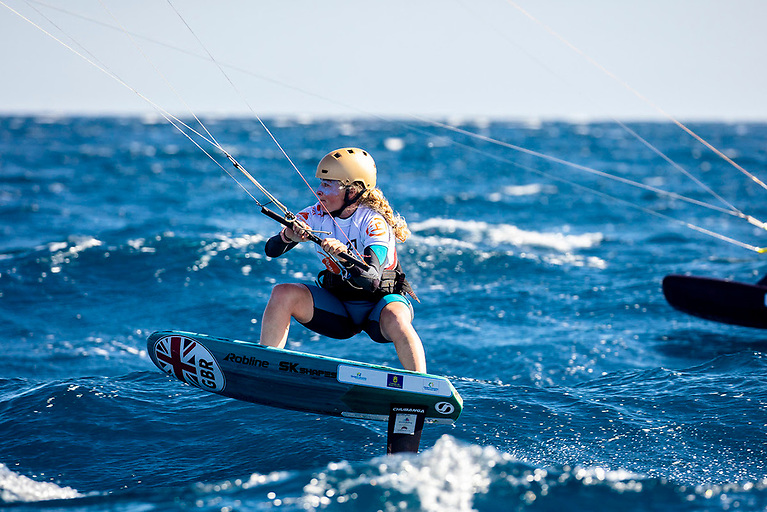 Britain's Maddy Anderson will compete in the Formula Kite World Championships that will take place in Torregrande, Sardinia, from October 13 to 17