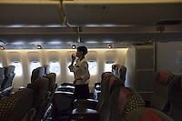 Portfolio example of Ko Sasaki, a day in the life of Japan Airlines (JAL) shot by Ko Sasaki, Tokyo Japan. <br /> <br /> Photo by Ko Sasaki / Sinopix