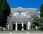 Greece, Corfu, near Gastouri: Achilleion Palace | Griechenland, Korfu, bei Gastouri: Achilleion Palast