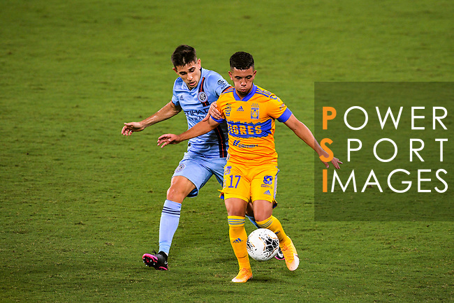 Tigres (MEX) vs New York City FC (USA) during their Scotiabank Concacaf Champions League match at the Orlando's Exploria Stadium on 15 December 2020, in Florida. Photo by Victor Fraile / Power Sport Images