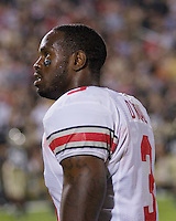 06 October 2007: Ohio State safety Jamario O'Neal..The Ohio State Buckeyes defeated the Purdue Boilermakers 23-7 on October 06, 2007 at Ross-Ade Stadium, West Lafayette, Indiana.