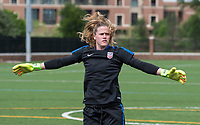 Dallas, TX - April 2, 2017: The USWNT trains in preparation for a pair of friendlies against Russia.