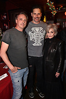 "HOLLYWOOD - FEBRUARY 20: Joe Manganiello Sharon Osbourne attend Ozzy Osbourne global tattoo and album listening party to celebrate his new album ""Ordinary Man"" on February 20, 2020 in Hollywood, California. (Photo by Lionel Hahn/Epic Records/PictureGroup)"