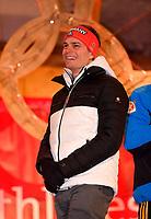 27.02.2018, Olympische Winterspiele 2018, Empfang der erfolgreichen Olympia-Sportlerinnen und Sportler aus dem Allgäu am Marktplatz Oberstdorf. Alexander Schmid (Ski Alpin, GER). *** Local Caption *** © pixathlon