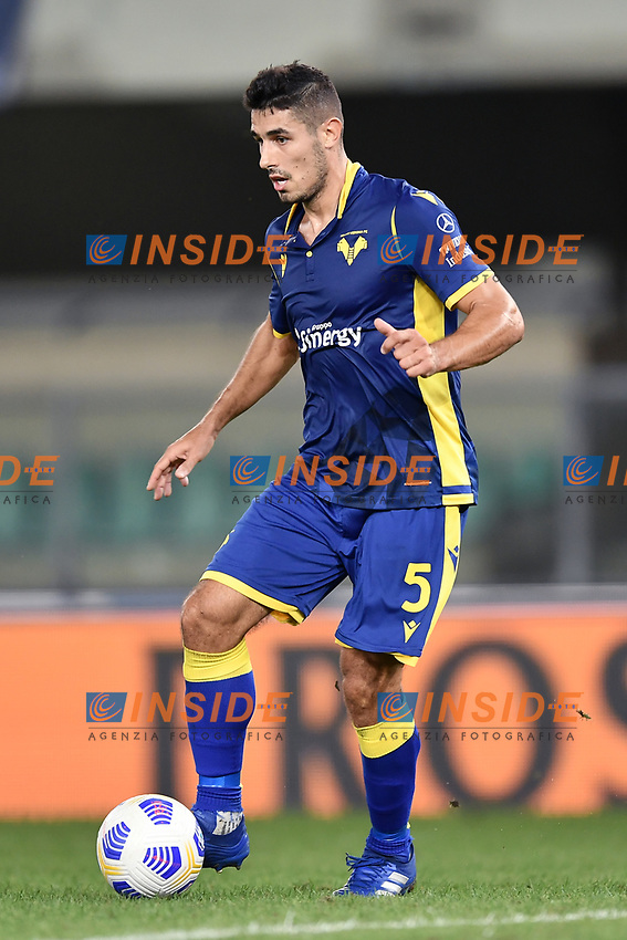 Davide Faraoni <br /> Serie A football match between Hellas Verona and AS Roma at Marcantonio Bentegodi Stadium in Verona (Italy), September 19th, 2020. Photo Image Sport / Insidefoto