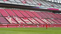 KASHIMA, JAPAN - AUGUST 2: Kashima Soccer Stadium during a game between Canada and USWNT at Kashima Soccer Stadium on August 2, 2021 in Kashima, Japan.