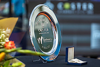 Amstelveen, Netherlands, 10 Juli, 2021, National Tennis Center, NTC, Amstelveen Womans Open, Singles final:  Runner up Trophy<br /> Photo: Henk Koster/tennisimages.com